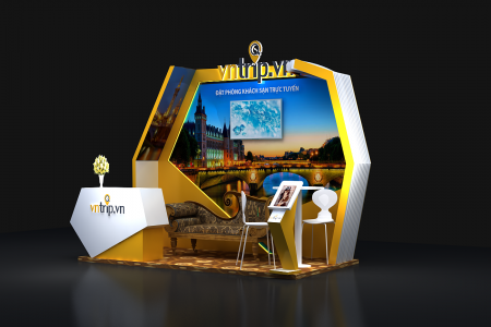 Thi công Booth Activation – Booth quảng cáo